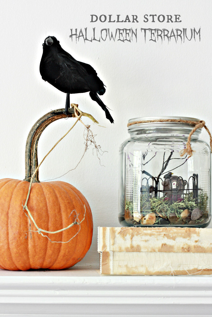 How to make a Halloween Terrarium