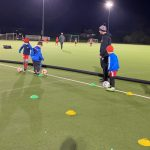 Neston Nomads U6's Training