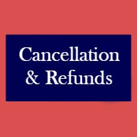 STF Cancellation Policy