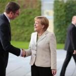 Angela Merkel i Aleksandar Vucic