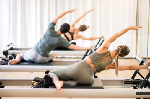 Pilates Reformer workout