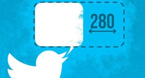 Twitter ya permite mensajes de 280 caracteres