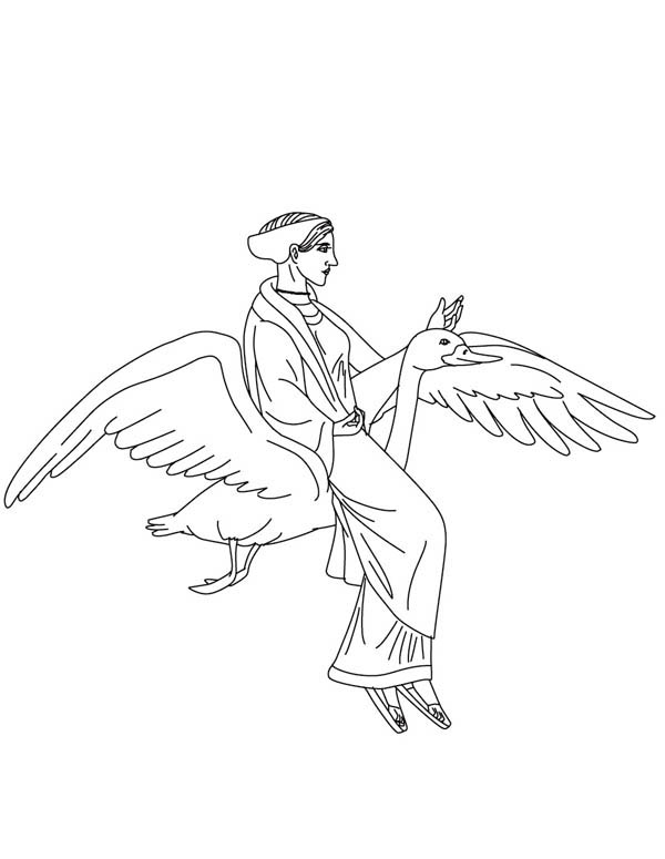 aphrodite from greek gods and goddesses coloring page netart