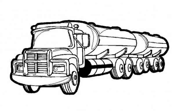 truck coloring page here home semi truck oil containing semi truck