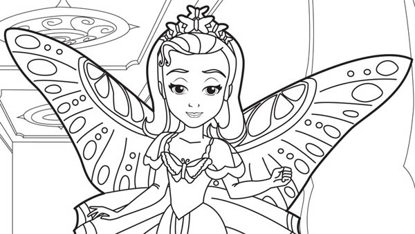 princess ariel and sofia the first. sofia the first coloring pages, coloring pages