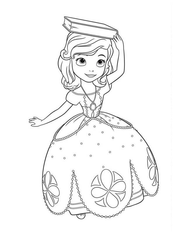coloring pages : Sofia The First Coloring Book Luxury .. | Neat | 834x600