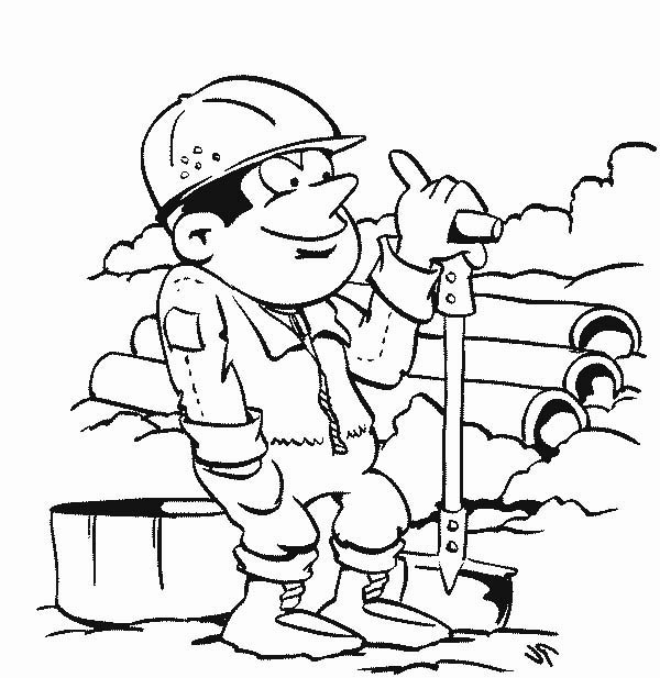 activity in community helpers coloring page netart