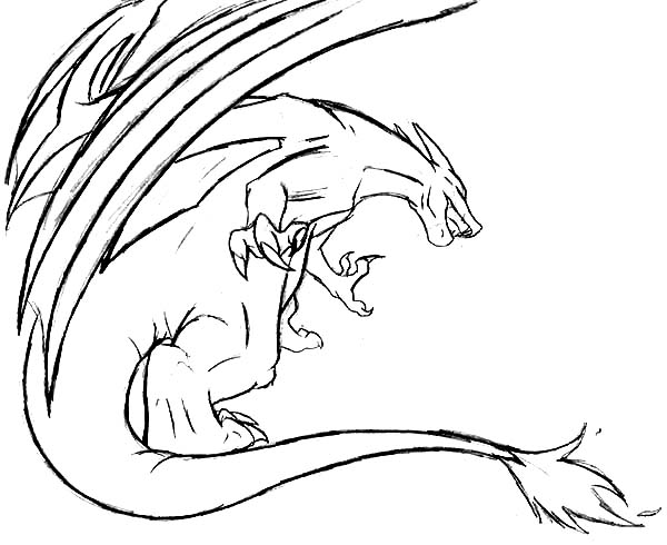 charizard flying attack coloring page netart