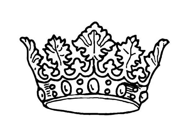 picture of princess crown coloring page netart