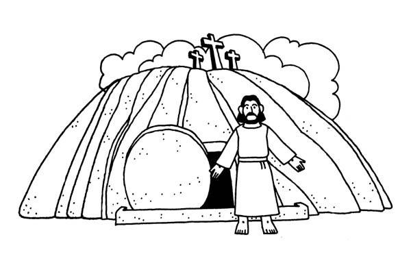 jesus resurrection netart
