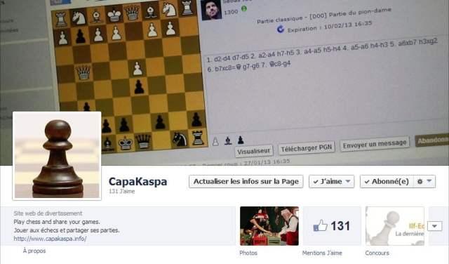 Profil Facebook CapaKaspa
