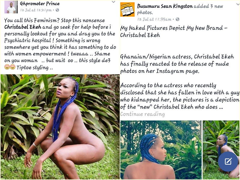 How social media reacted to the actress Christable Ekeh's new brand 0