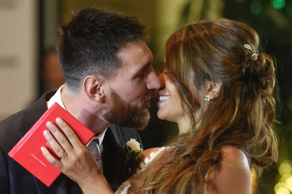Showbiz, Football stars attend Lionel Messi's'wedding of the century'