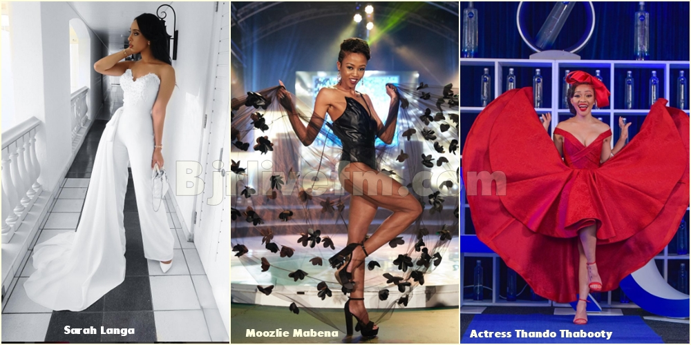 South Africa's Dancer Zodwa Wabantu's Outfit Doesn't Include Underwear