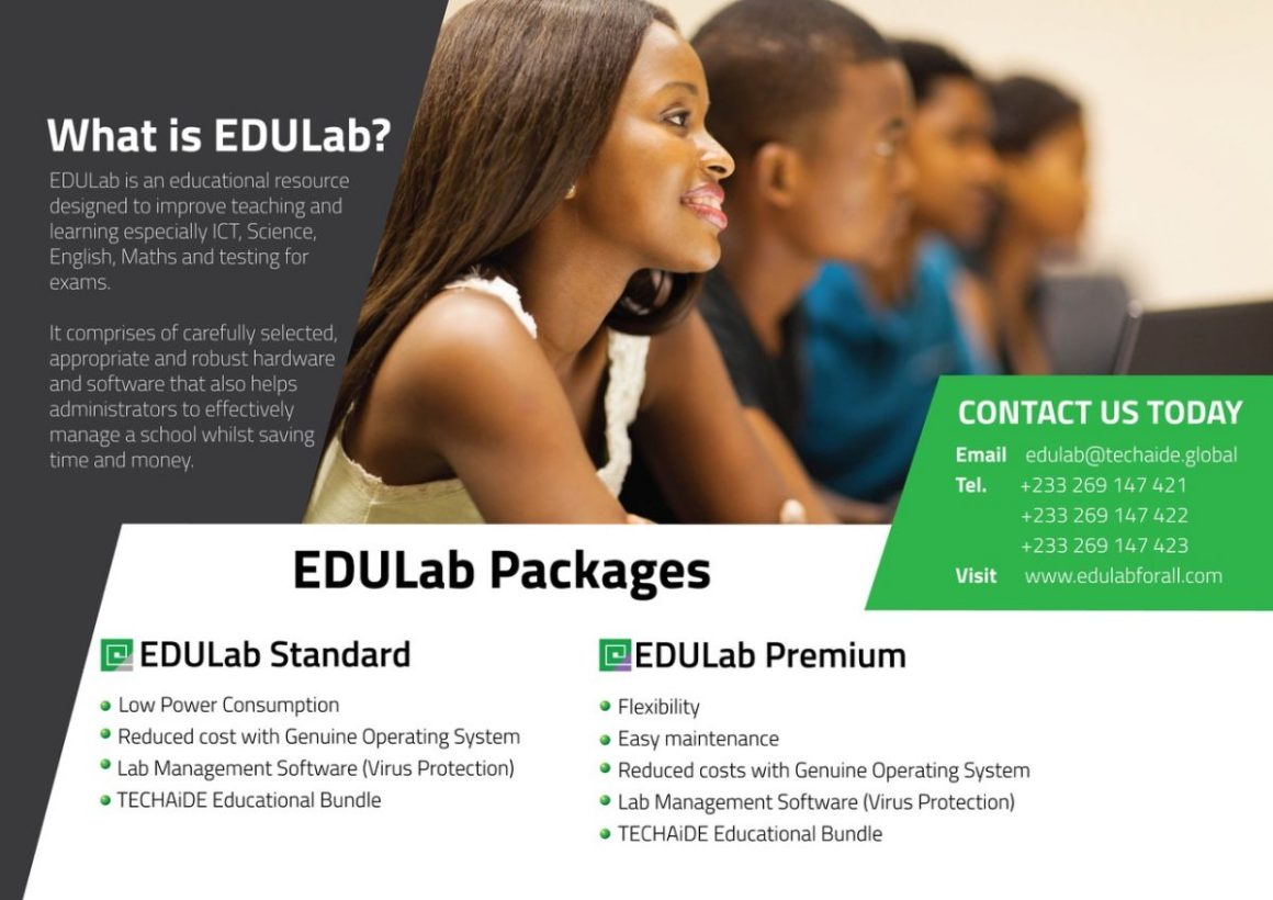 EDULab Roadshow: TECHAiDE Technologies Impacts ICT Education In Ghana