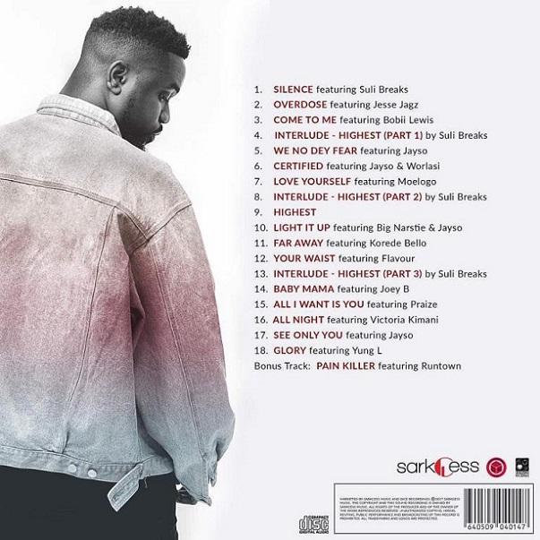 Sarkodie Unveils Tracklist For 5th Studio Album, 'Highest'