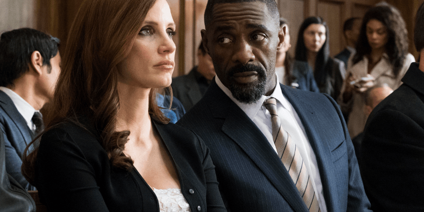 Trailer for 'Molly's Game' — Idris Elba co-stars with Jessica Chastain