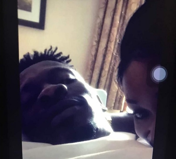 Shatta Wale allegedly'caught' in bed with actress Efia Odo