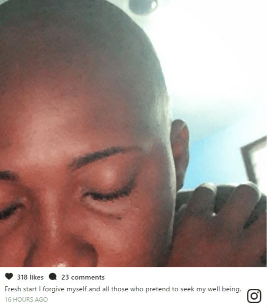 Abena Korkor shaves hair, forgives sex payers as she embraces new beginning