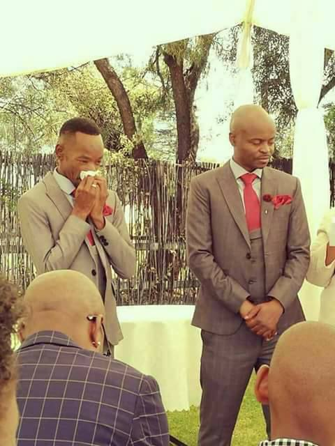 Kenyan homosexuals get married, photos of couple kissing goes viral