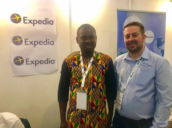 'Unfazed' Abeiku Santana attends Magical Kenya Travel Expo -Photos