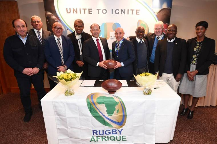 Rugby's new passionate frontier Africa