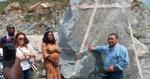 Mysterious stone discovered at Gomoa Ojobi