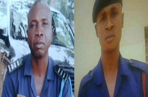 7 cop 'killers' caged