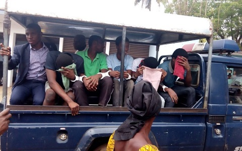 Bantama gang rapists cry in court