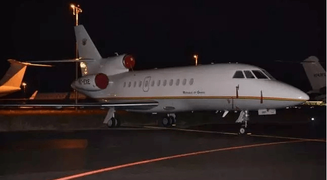 Nana Akufo-Addo's jet is one of the most expensive in Africa