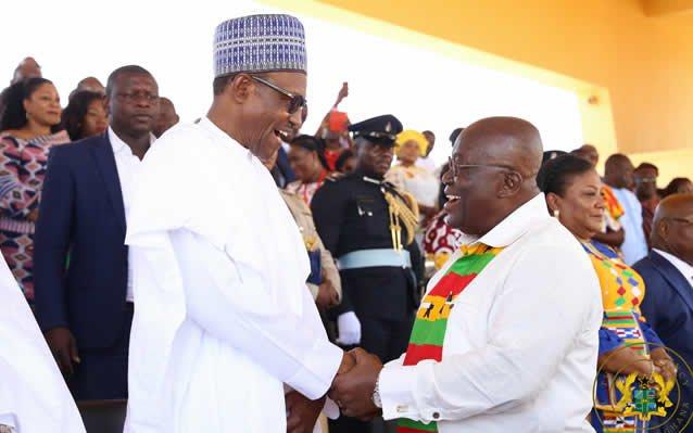 I'll help you fight corruption in Ghana – Buhari tells Akufo-Addo