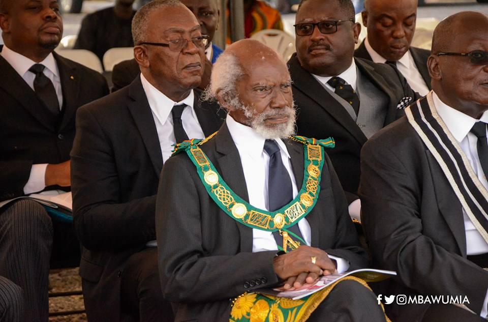 Freemasons bid K.B Asante final farewell at State House