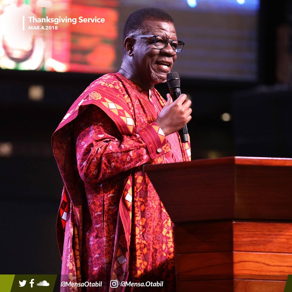 The excellence we had as Ghanaians is all gone - Mensa Otabil