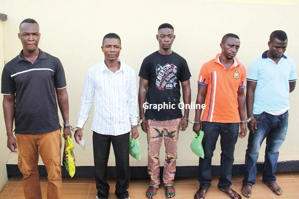 6 armed robbers jailed 118 years