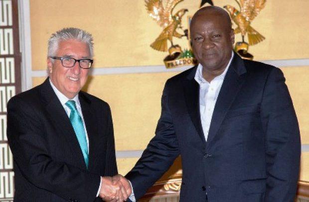 Mahama 'begged' US for military base