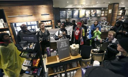 Starbucks to close down 8,000 US stores for racial-bias training