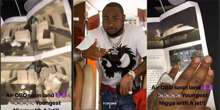 10 facts about Davido's $27m Bombardier Challenger 605 Private Jet