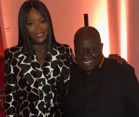 Stormzy, Naomi Campbell, Others attend London dinner in honour of Akufo-Addo