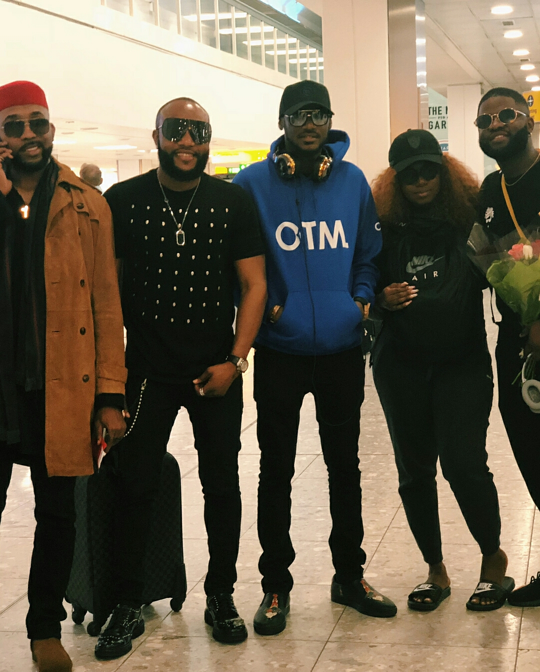 Photos Stars arrive in London ahead of One Africa Music Fest 2018