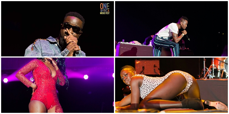 Sarkodie, Seyi Shay, Kranuim, Others thrill fans at One Africa Music Fest