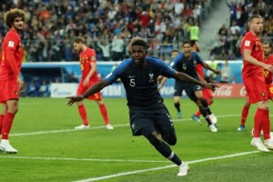 France beat Belgium 1-0 to reach World Cup final in Russia