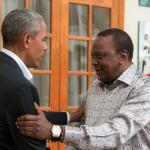 Barack Obama meets Kenyatta and Odinga in Kenya