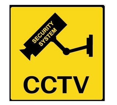 Netcam falsk overvåkningskamera dummy CCTV-skilt