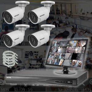 Kameraovervåkning 8 mp