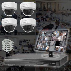 Netcam 2 megapixel 4 kameraer pakke HWI-D121H-4