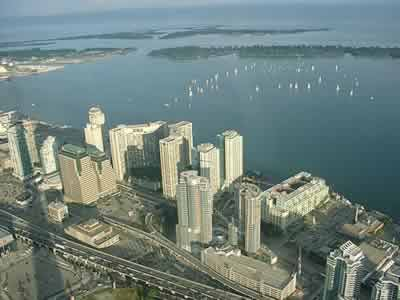 View from the CN tower 1