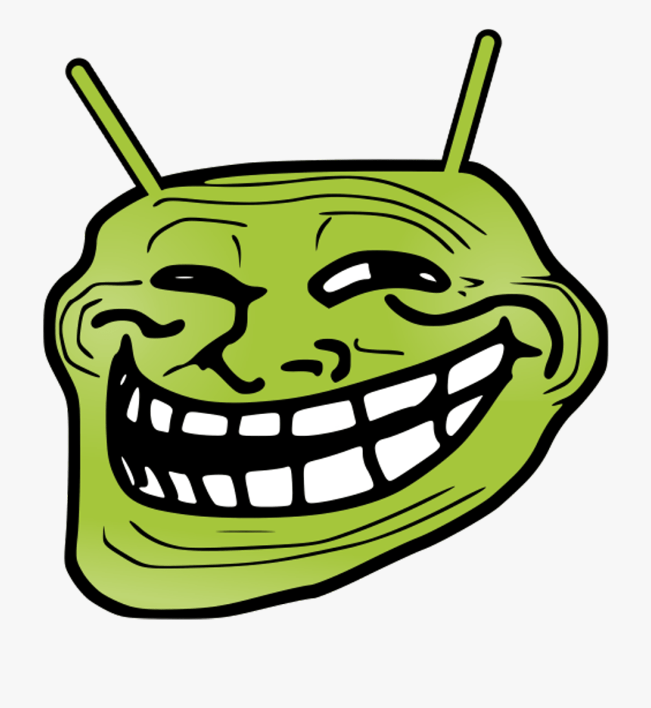Annoying Orange Troll Face Png Download Clipart Troll Face