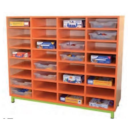 meuble a casiers 32 cases meuble a casiers pour ecole meuble a casiers pour ecolier en melamine