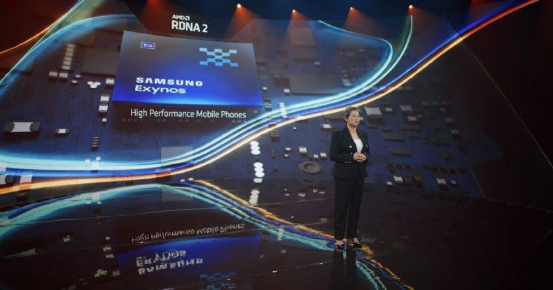 AMD RDNA2 en Samsung Exynos