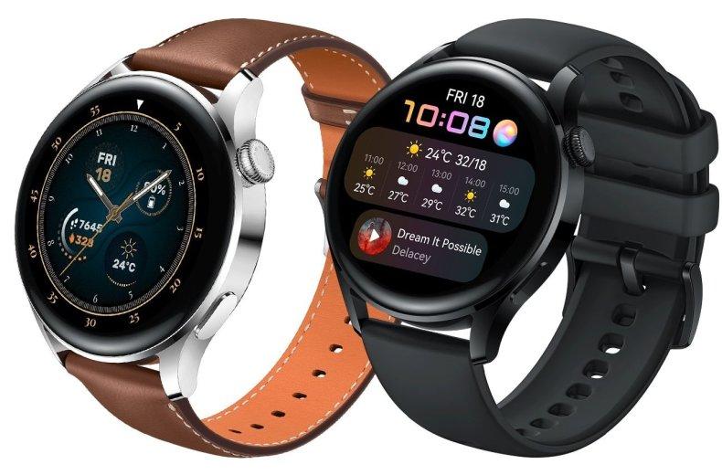 Huawei Watch3 en dos colores